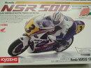 京商1/8電動R/CオートバイハングオンレーサーHONNDANSR500アンプ&サーボ&バッテリーセット