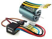 ジーフォース/ブラシレスモーター13.5T&ESCTS50A&SuperFastType-Cコンボセット