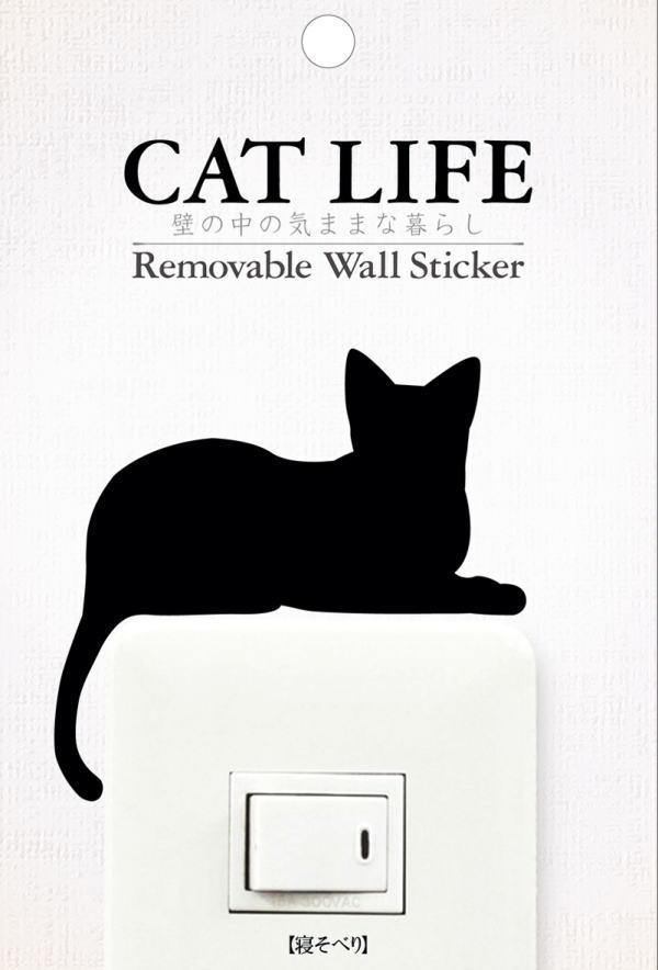 壁紙・装飾フィルム, ウォールステッカー CAT LIFE ! Wall story