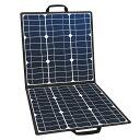 FlashFish ソーラーチャージャー 50W ソーラーパネル充電器 折りたたみ式 DC18V USB5V 高変換効率22% スマホ ノートパソコン ポータブル電源充電器 太陽光パネル 1