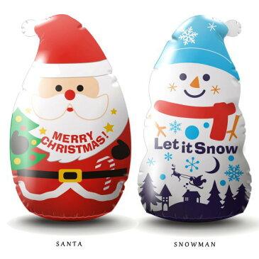 新製品!クリスマス ビニールディスプレイ サンタ・スノーマン 130cm(8520・かわいい 飾り 装飾 店舗 エアーディスプレイ バルーン インスタ映え)