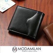 ハービーアンドハドソン二つ折り財布ブライドルビルフォールドメンズ4色HA-1003