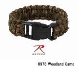 ロスコ メンズ ブレスレット パラコード Deluxe Paracord Bracelets Polyester Plastic ROTHCO