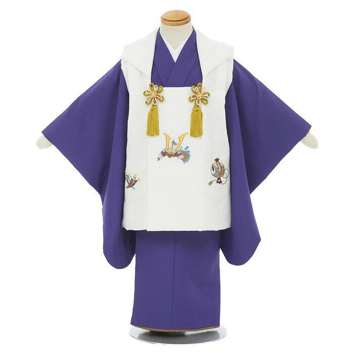 【レンタル】753 七五三 被布 着物 3歳 男の子 足袋プレゼント 子供 きもの 送料無料