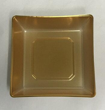 7.5寸用ブロック仕切 1/4 金色【使い捨て 薄い お正月 運動会 お花見 弁当 おせち】【日本製】※1枚のみの単価です