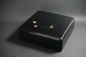 7寸角重箱 独楽 1段セット 【お花見 運動会 お正月 おせち重 弁当 仕出し 結婚式 法事】【日本製】【Made in Japan, Special price, Lacquered box, Lunch box, Celebration, Party, Picnic】*Domestic shipping only*