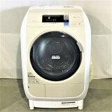 【中古品】 日立  BD-V3600L ビッグドラム ドラム式洗濯乾燥機 ヒートリサイクル 風アイロン 左開き ライトベージュ 10006228