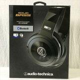 【新品】 オーディオテクニカ / Audio-Technica ATH-WS99BT ワイヤレスステレオヘッドセット Bluetooth対応 ブラック 10007483