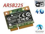 ★メール便可★ Atheros社最新 802.11b/g/n、シングルバン WIFI+Bluetooth 4.0 mini pci express カード HP+汎用 Athero
