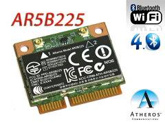 ★メール便可★ Atheros社最新 802.11b/g/n、シングルバン WIFI+Bluetooth 4.0 mini pci exp...