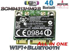★メール便可★ 最新 802.11N Wireless WIFI+Bluetooth 4.0 Combo Card★HP純正+汎用 Broadco...