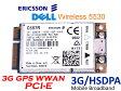 DELLオリジナル Wireless 5530 3G GPS内蔵 WWAN カード  Ericsson F3507G