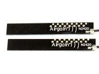 4dBiアンテナ無線LANWIFI/Wimax/Bluetoothモジュール用ミニサイズアンテナ2本17cm1.13ipex