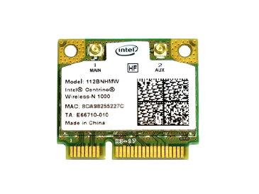 インテル Intel Centrino Wireless-N 1000 Single Band 2.4GHz 802.11b/g/n PCIe Mini half 無線LANカード 112BNHMW