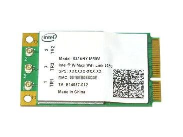 インテル Intel WiMAX/WiFi Link 5350 Dual Band 802.11a/b/g/n 3TX3R 450Mbps +Wimax PCIe Mini 無線LANカード 533ANXMMW