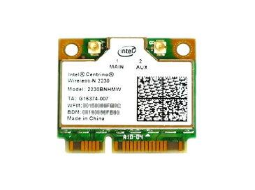 インテル Intel Centrino Wireless-N 2230 Single Band 802.11b/g/n 300Mbps + Bluetooth 4.0 PCIe Mini half 無線LANカード 2230BNHMW
