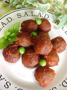 野菜たっぷりのベジボールはそのまま吸い物などに入れても美味。ベジタリアンのミートボール健...