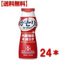 【送料無料】 雪印メグミルク ガセリ菌 SP株 のむヨーグルト100g24本 飲むタイプ 一般製品 2ケース ダイエット 内臓脂肪 メタボ対策
