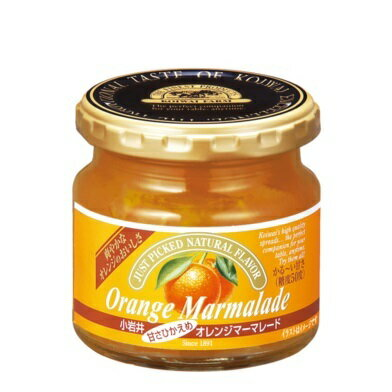 小岩井 甘さひかえめ オレンジマーマレードジャム 1個 180g ママレード Orange Marmalade画像