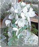 ビーズキット【ビーズフラワーウェディング】ユーチャリスのキャスケード手作りブーケキット(ブライダル結婚式ギフト手芸)ビーズが咲いたよ
