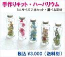 ハーバリウム キット Sサイズ ボトル 2本セット【送料無料...