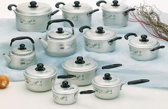 北陸鋁亞實基隆葱鋁製造牛奶鍋14cm