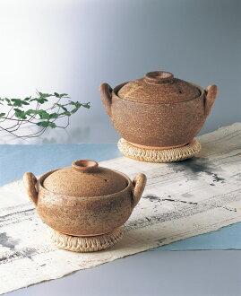 攻擊伊賀焼i系列味噌湯鍋大小座鍋架,食譜15721