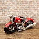 アメリカンバイク バイク オブジェ ハーレー ガレージ 世田谷ベース アンティーク プレゼント おしゃれ /REDバイク
