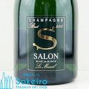 【お買い物マラソン 全品ポイント2倍】サロン ブランドブラン 2007 正規品 750ml ブラン ド ブラン シャンパン シャンパーニュ 裸瓶 2