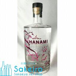 ハナミ ドライ・ジン 43% 700ml