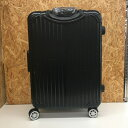 【中古】リモワ スーツケース キャリーバッグ 4輪 ブラック[jggZ]