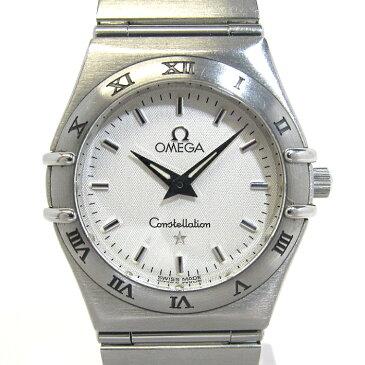 OMEGA オメガ コンステレーション SS レディース腕時計 文字盤ホワイト クオーツ 1572.30 【レディース】【watch】.【z80623*hmn】