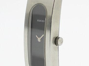 【中古】GUCCI ブレスウォッチ バングルウォッチ クウォーツ レディース腕時計 SS シルバー 2400S