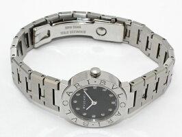 pretty nice d5409 4e057 中古】BVLGARI レディース腕時計 SS ブルガリブルガリ ブラック ...
