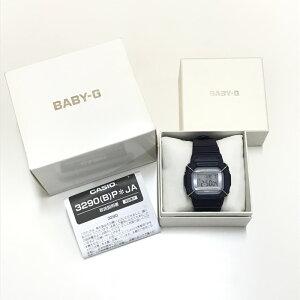 【中古】カシオ ベビージー レディース 腕時計 クオーツ ネイビー BGD-501UM [jggW]