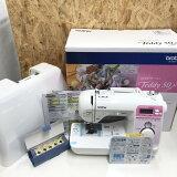 【中古】ブラザー コンピュータミシン Teddy 50 CPV0303 ホワイト[jggZ]