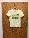 【中古】ティーエムティー メンズ 半袖Tシャツ 6th アニバーサリー アイボリー系 表記サイズ:S[jggI]