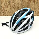 【中古】SCOTT スコット ヘルメット Lサイズ 59-61cm 260g ホワイト ブルー[jggZ]
