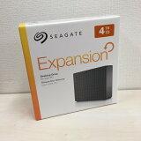 【中古】SEAGATE シーゲート 外付けハードディスク Expansion HDD STEB4000304 4TB SRD0NF2 テレビ録画対応 [jgg]