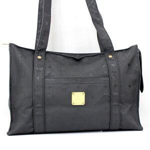 [二手] MCM手提袋Logogram黑色