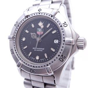 [Used] TAG Heuer Professional 200 Ladies Watch Quartz SS Black Dial WE1410-R