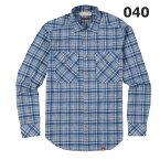 ◎フォックスファイヤー 5212767・スコーロン グラデチェックシャツL/S(メンズ)【50%OFF】