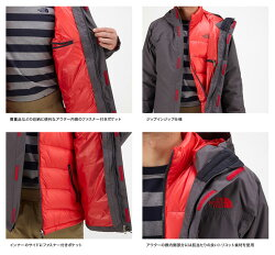 ○ノースフェイスNP61641・ゼウストリクライメートジャケット(メンズ)