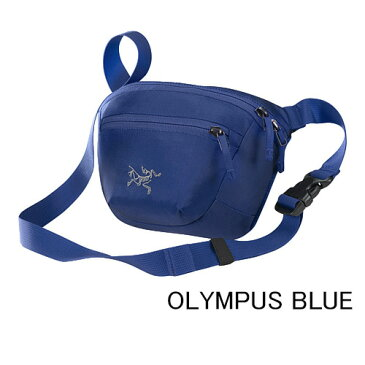 ◎アークテリクス 17171・Maka 1 Waistpack/マカ1 ウエストパック(OLYMPUS BLUE)L06806800