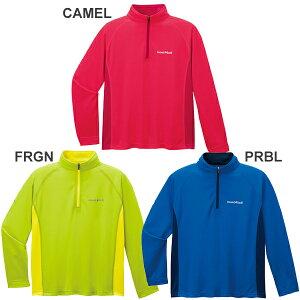 【お取り寄せ商品】●モンベル 1114220・クールロングスリーブジップシャツKid's(130-150)