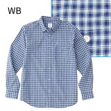 ○ノースフェイス NR11810・ロングスリーブ マキシチェックシャツ(メンズ)【31%OFF】