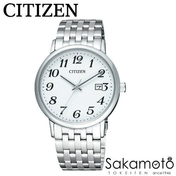 国内正規品 CITIZEN シチズンコレクション 腕時計 エコ・ドライブ ペアウォッチ カップル プレゼントに最適 文字刻印可能【2本での価格】【BM6770-51B&EW1580-50B】