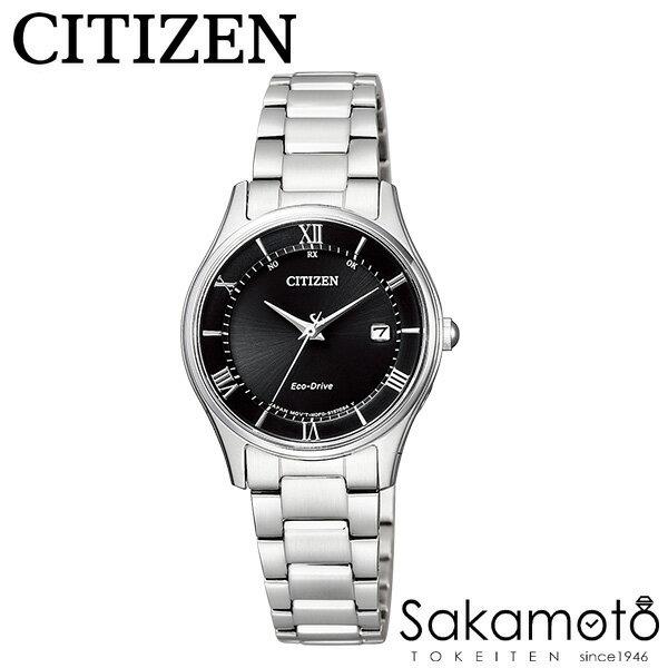 国内正規品 CITIZEN シチズンコレクション 腕時計 エコ・ドライブ電波時計 ペアウォッチ カップル プレゼントに最適 文字刻印可能【2本での価格】【AS1060-54E&ES0000-79E】
