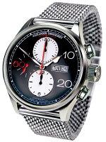 正規品ドイツ製アレクサンダーショロコフ「ALEXANDERSHOROKHOFF」アバンギャルドコレクションAUTOMATICCHRONOGRAPH(オートマチッククロノグラフ)自動巻きクロノグラフメンズ腕時計