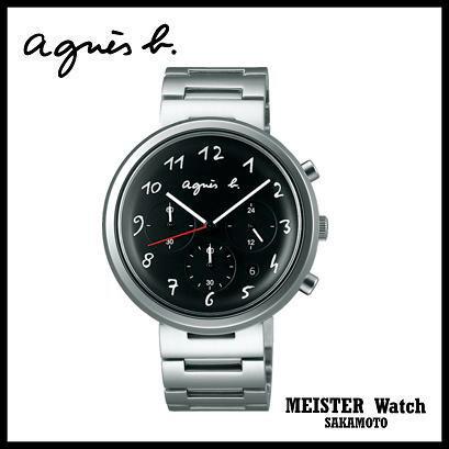 国内正規品アニエスベー【agnes b.】【MARCELLO!】腕時計 クオーツ クロノグラフ 男女兼用 ユニセックス【2016年4月発売】【FCRT977】